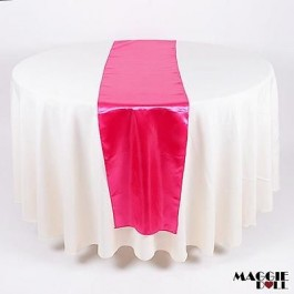 10 Satin Table Runners Sashes Cloth[Red]